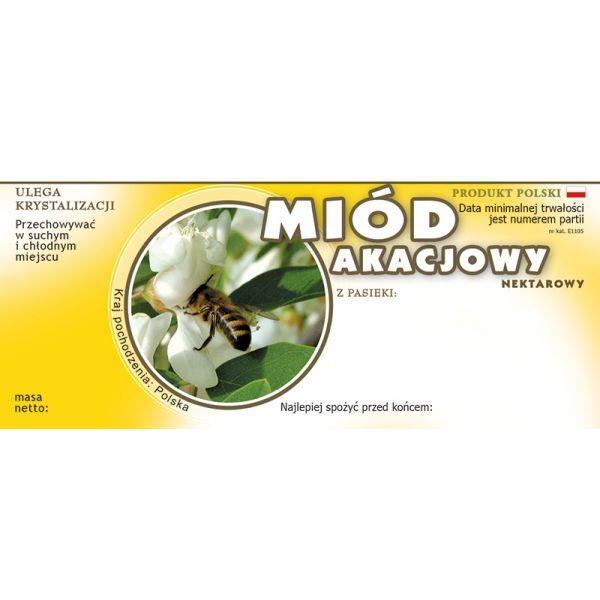 paczka-etykiet-na-miod-akacjowy-100szt-wzor-e1105
