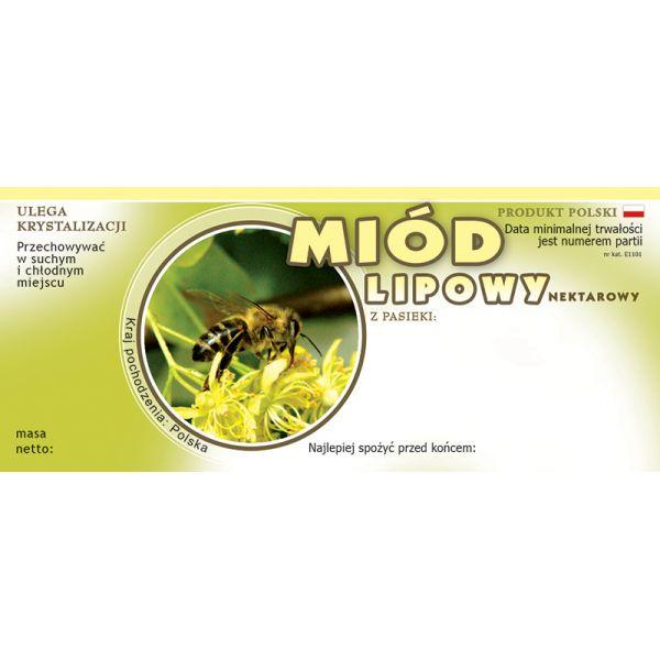 paczka-etykiet-na-miod-lipowy-100szt-wzor-e1101