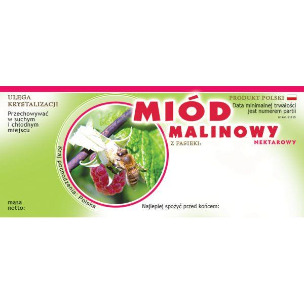 paczka-etykiet-na-miod-malinowy-100szt-wzor-e1115